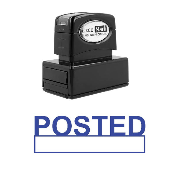 Box POSTED Stamp