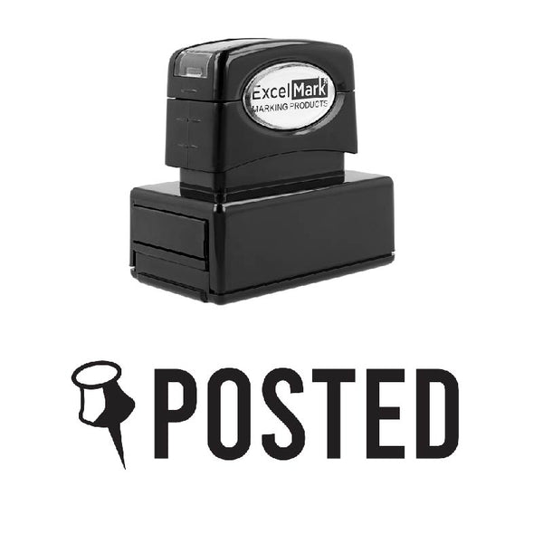Pin POSTED Stamp