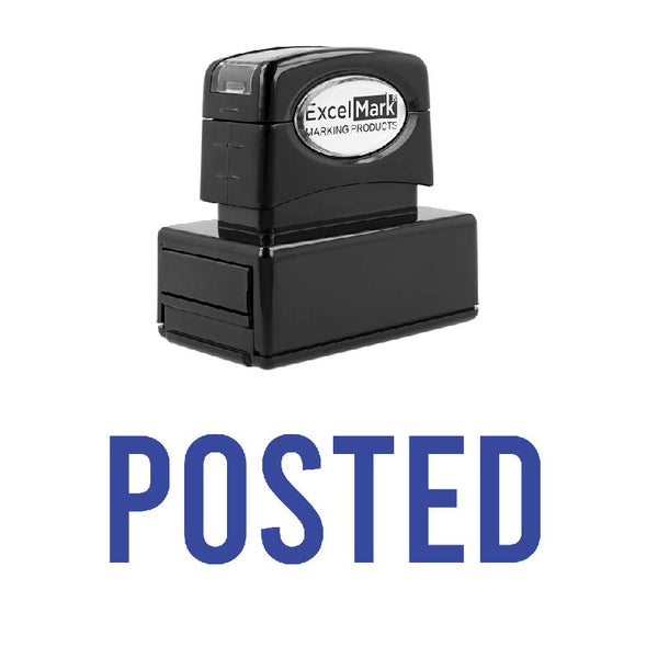 Arial POSTED Stamp