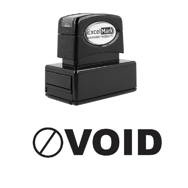 Icon Circle VOID Stamp