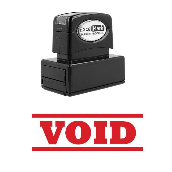 Double Line VOID Stamp