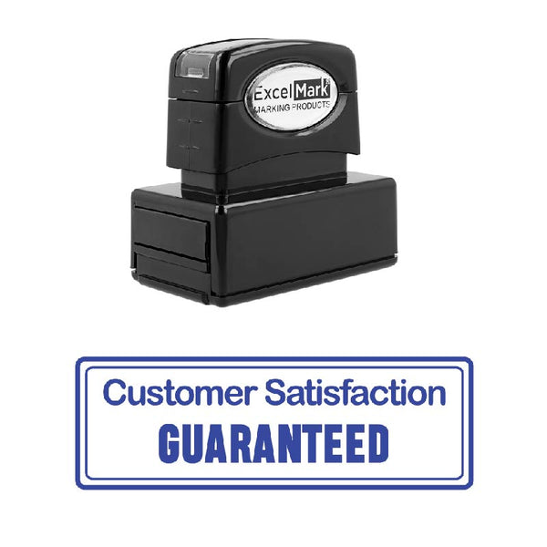Customer Satisfaction GUARANTEED Stamp