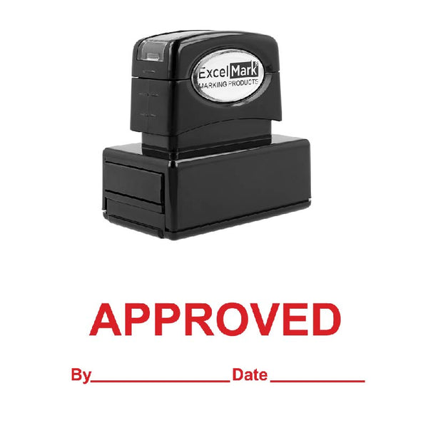 Date Line APPROVED Stamp