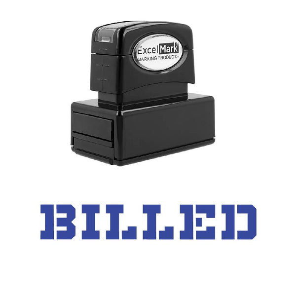Stencil BILLED Stamp