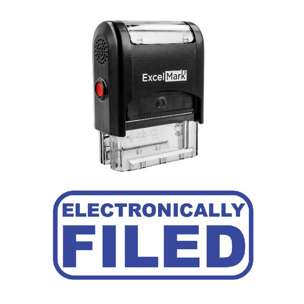 ELECTRONICALLY FILED Stamp