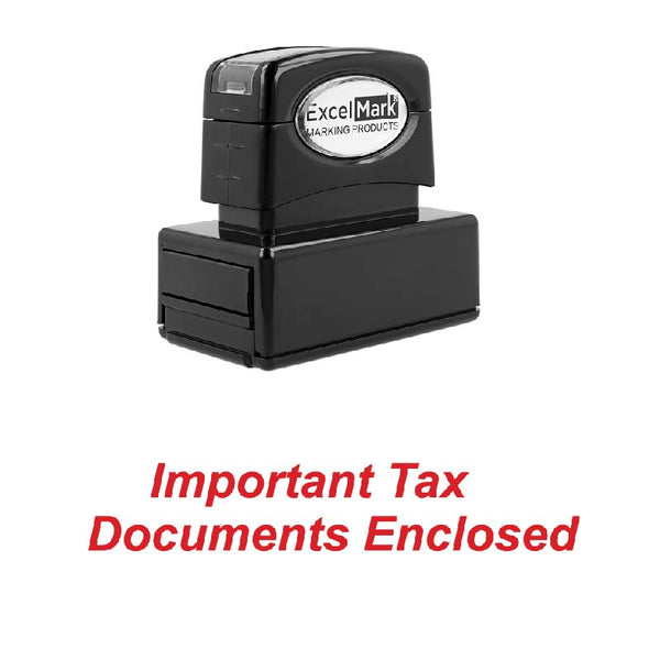 Important Tax Documents Stamp