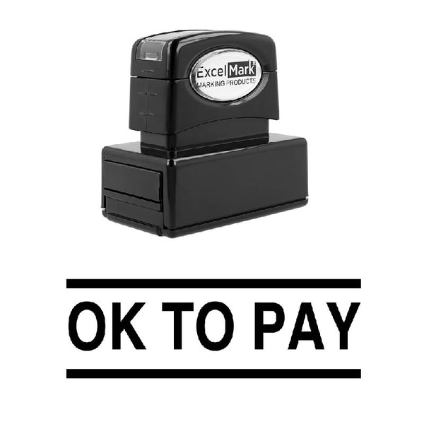 OK TO PAY Stamp