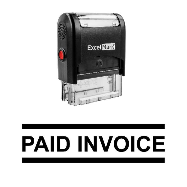 PAID INVOICE Stamp