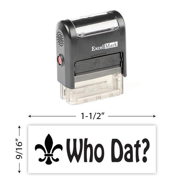 Who Dat! Self-Inking Stamp