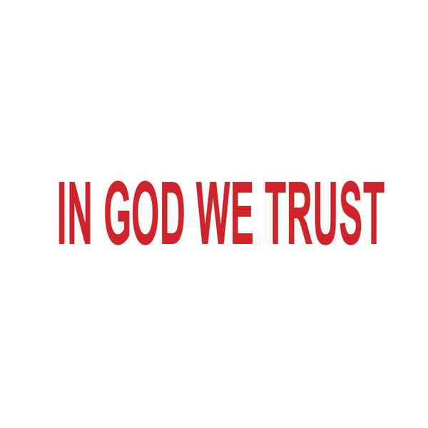 In God We Trust Stamp
