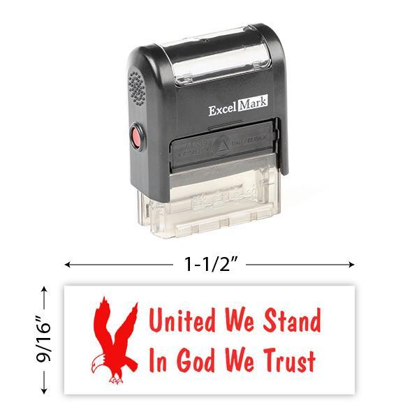 United We Stand, In God We Trust Stamp