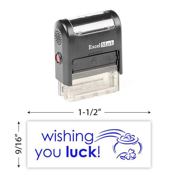 Wishing You Luck Stamp