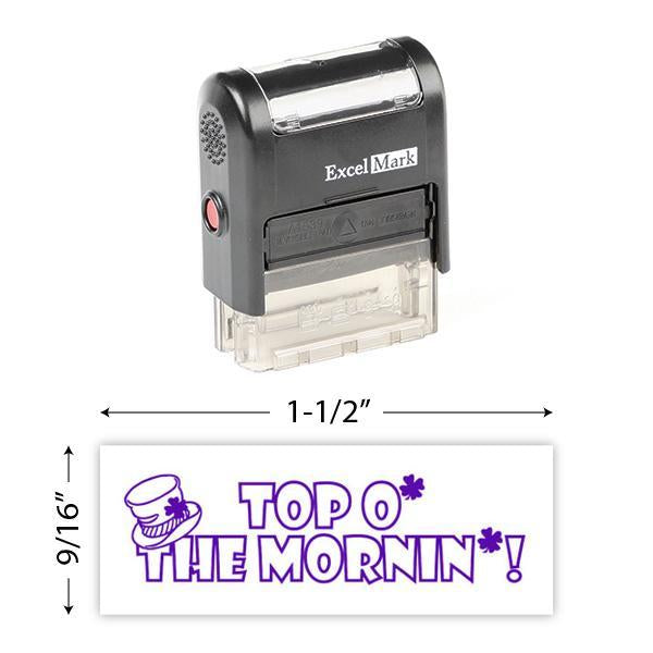 Top O' The Mornin' Stamp