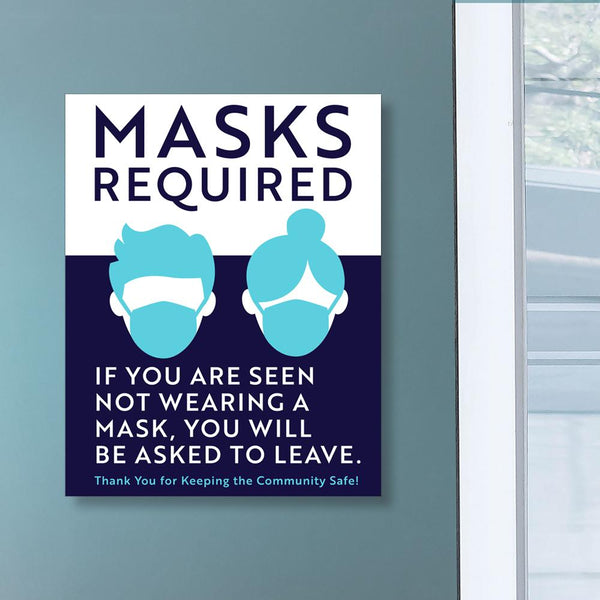 Masks Required Sign