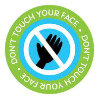 Don't Touch Face Decal