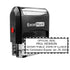 Self-Inking Illinois Notary Stamp
