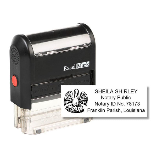 Self-Inking Louisiana Notary Stamp