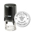 Round Self-Inking New Hampshire Notary Stamp