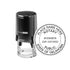 Round Self-Inking Oklahoma Notary Stamp