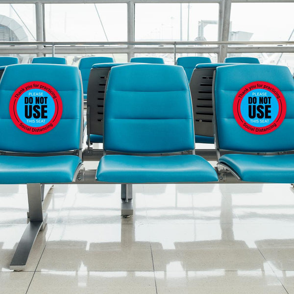 Thank You Please Do Not Use This Seat Chair Decal