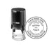 Round Self-Inking Washington Notary Stamp