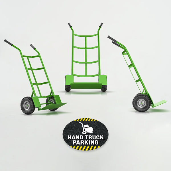 Hand Truck Parking Floor Decal
