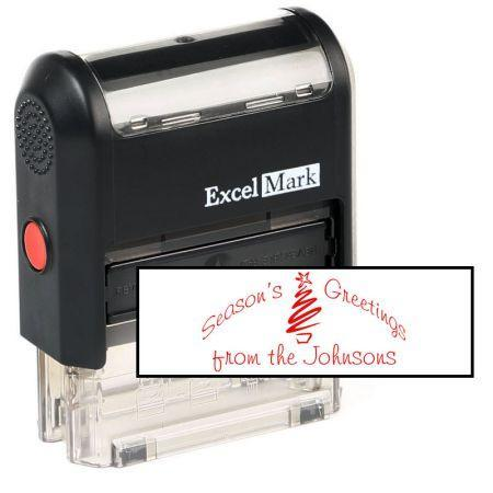 Season's Greetings Stamp