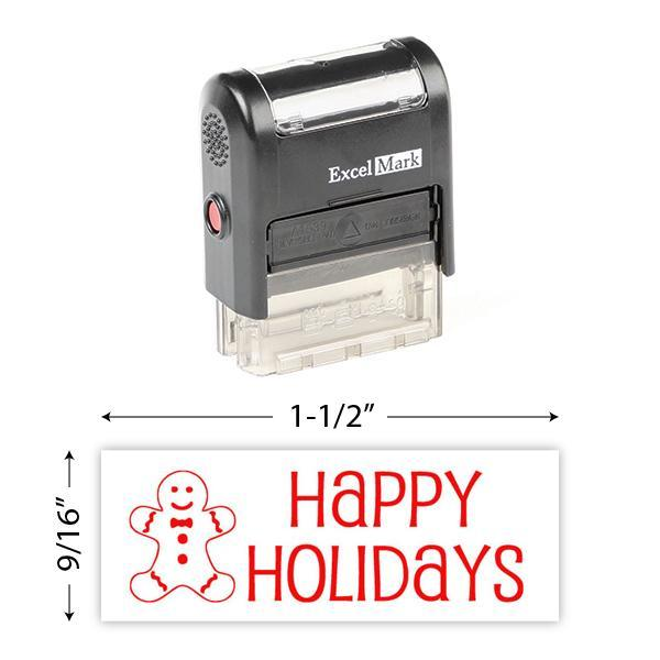 Happy Holidays 2 Stamp