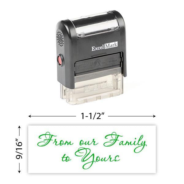 From Our Family To Yours Stamp