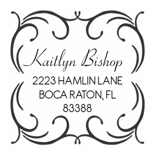 Address Stamp 208