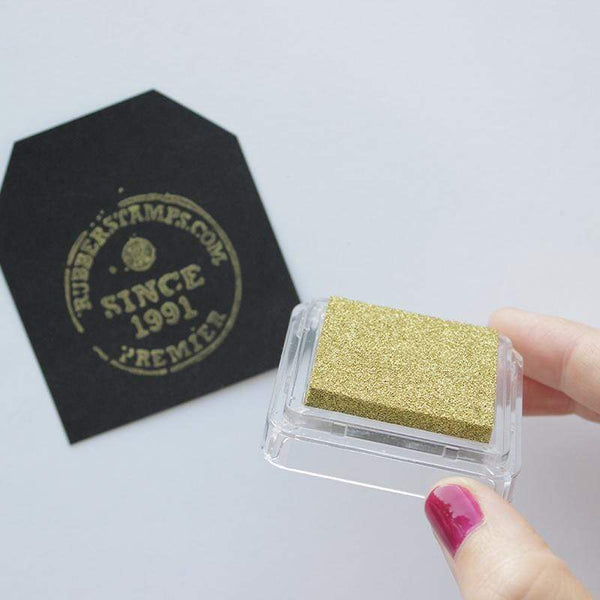Craft Ink Pads Gold Metallic Pigment Ink Pad