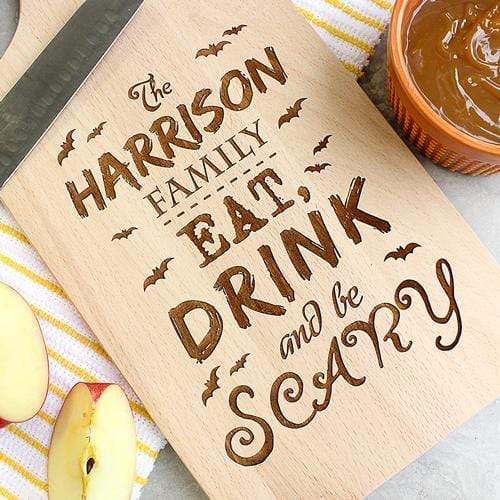 Cutting Boards Eat Drink and Be Scary Cutting Board