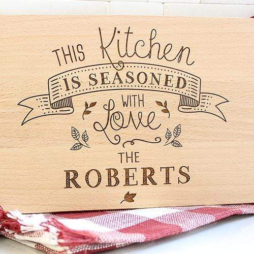 Cutting Boards Seasoned with Love Cutting Board
