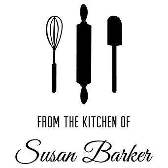 Kitchen Utensils Design Stamp