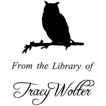 Library Owl Stamp