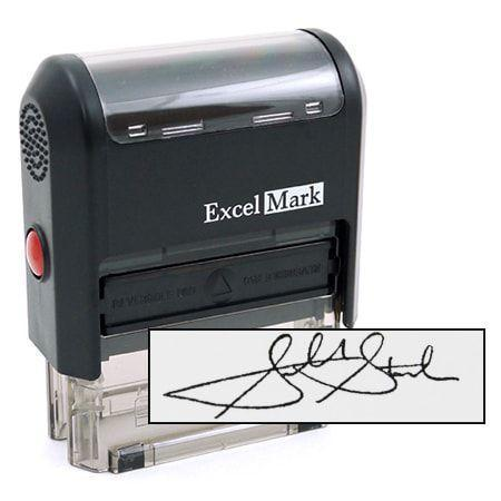 S Self-Inking Signature Stamp