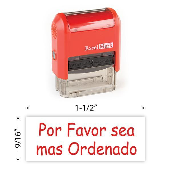 Por Favor Sea Mas Ordenado