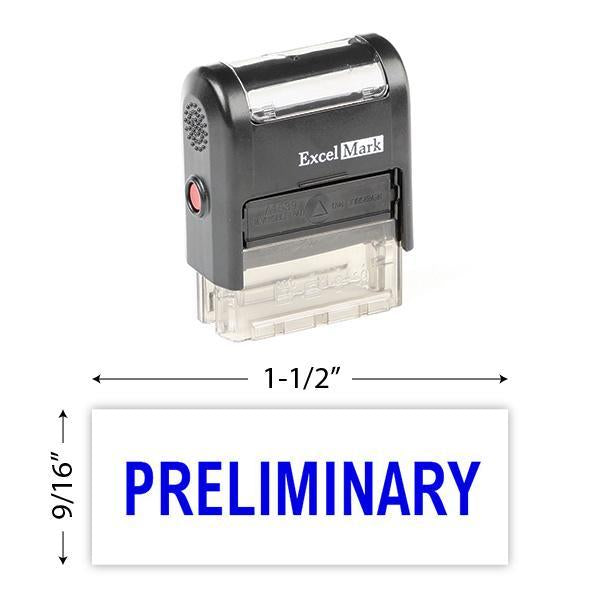 Preliminary Stamp