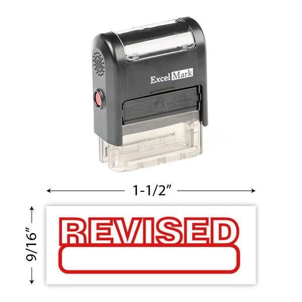 Revised Stamp