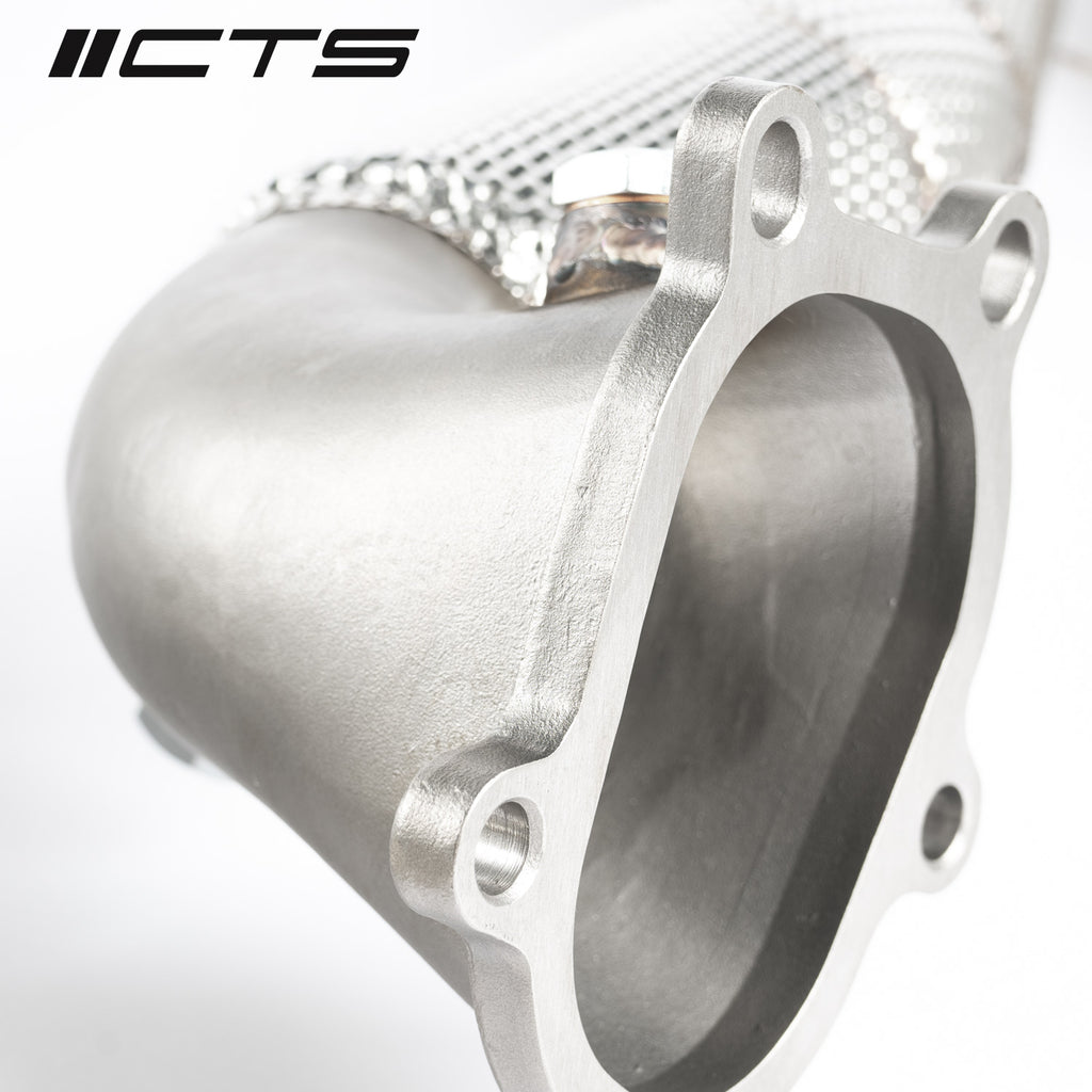 CTS TURBO AUDI C7/C7.5 S6/S7/RS7 4.0T CAST DOWNPIPE RACE SET