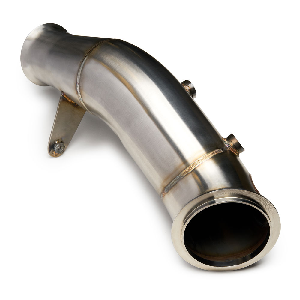 CTS TURBO CATLESS 4″ DOWNPIPE BMW N55 (ELECTRIC WASTEGATE)