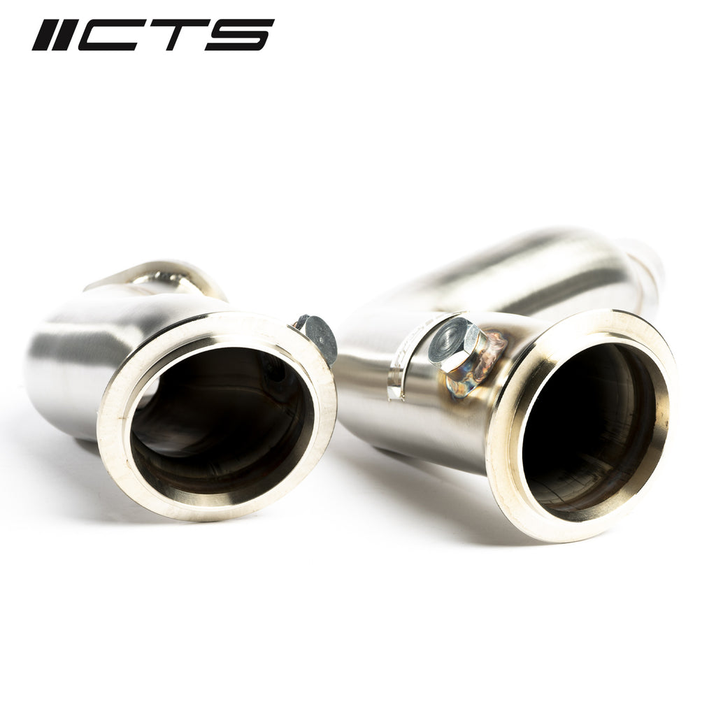 CTS TURBO 3″ STAINLESS STEEL DOWNPIPE BMW S55 F80 F82 F87 M3/M4/M2 COMPETITION
