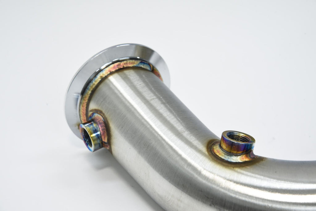 "ARM BMW G30 M550I N63R 3"" CATLESS DOWNPIPES"