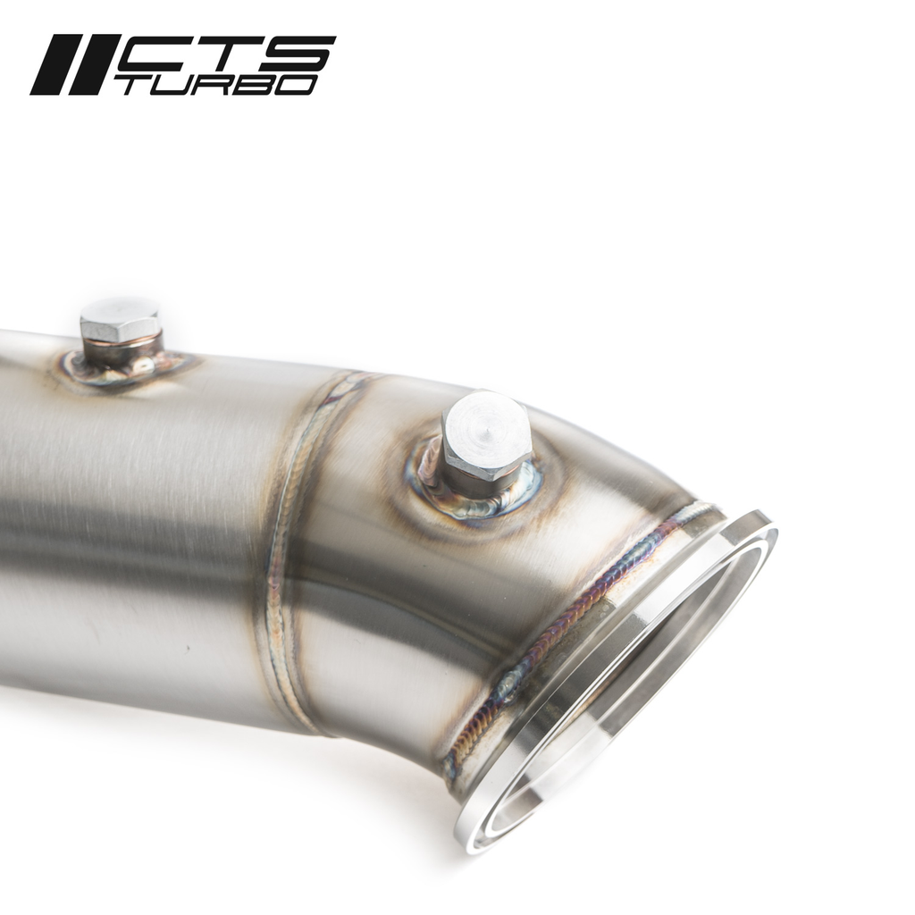 CTS TURBO 4.5″ CATLESS DOWNPIPE FOR BMW B58 1/2/3/4/5/7 SERIES RWD & XDRIVE – ALL GENERATIONS