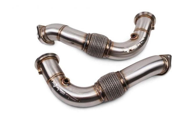 VRSF Stainless Steel Race Downpipes for V8 N63 08-16 BMW 550i, 650i, 750Li, X5, X6 X5M & X6M
