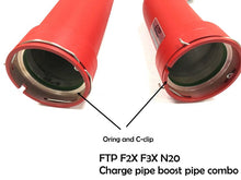 Load image into Gallery viewer, FTP F2X F3X N20 charge pipe Combination packages RED style