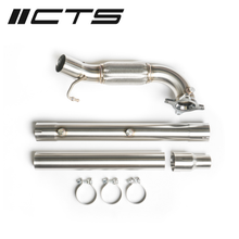 Load image into Gallery viewer, CTS TURBO AUDI/VW 2.0T FWD EXHAUST DOWNPIPE (MK5, MK6, 8P A3, 8J TT)