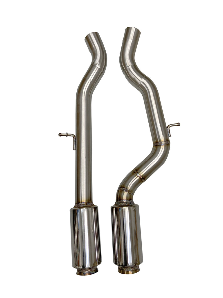 Active Autowerke F8X BMW M3 & M4 EQUAL LENGTH MID PIPE (PATENT PENDING IN US, UK AND EU) INCLUDES ACTIVE F-BRACE