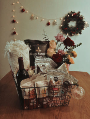 Floral Christmas Hampers by Pink Olive