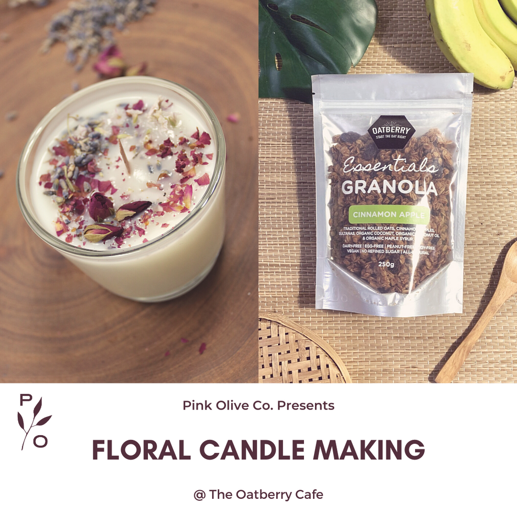 Floral Candle Making @ The Oatberry